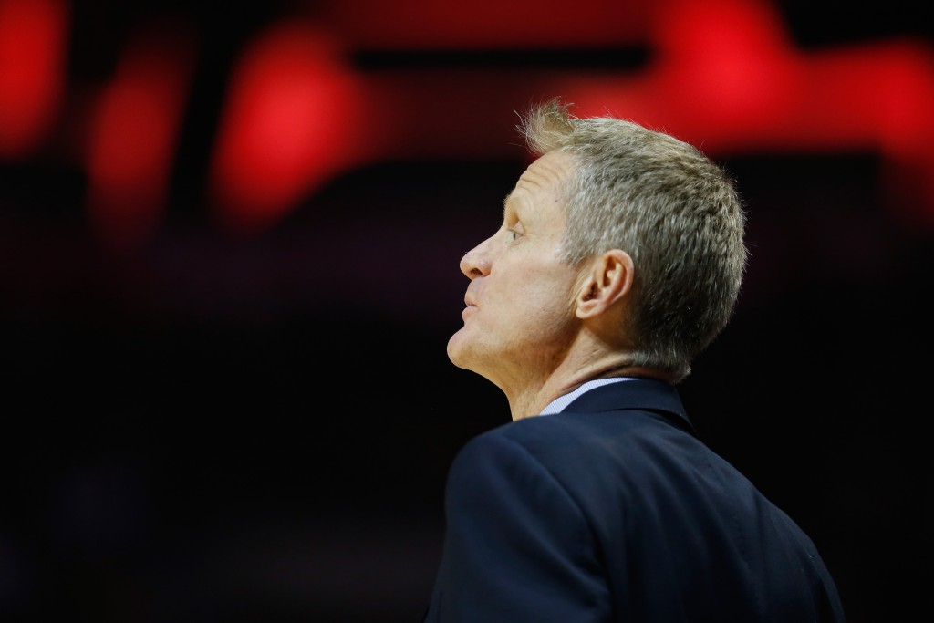 Steve Kerr (Photo by Sean M. Haffey/Getty Images)