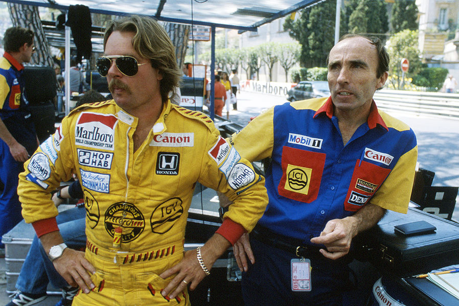 Keke Rosberg e Frank Williams