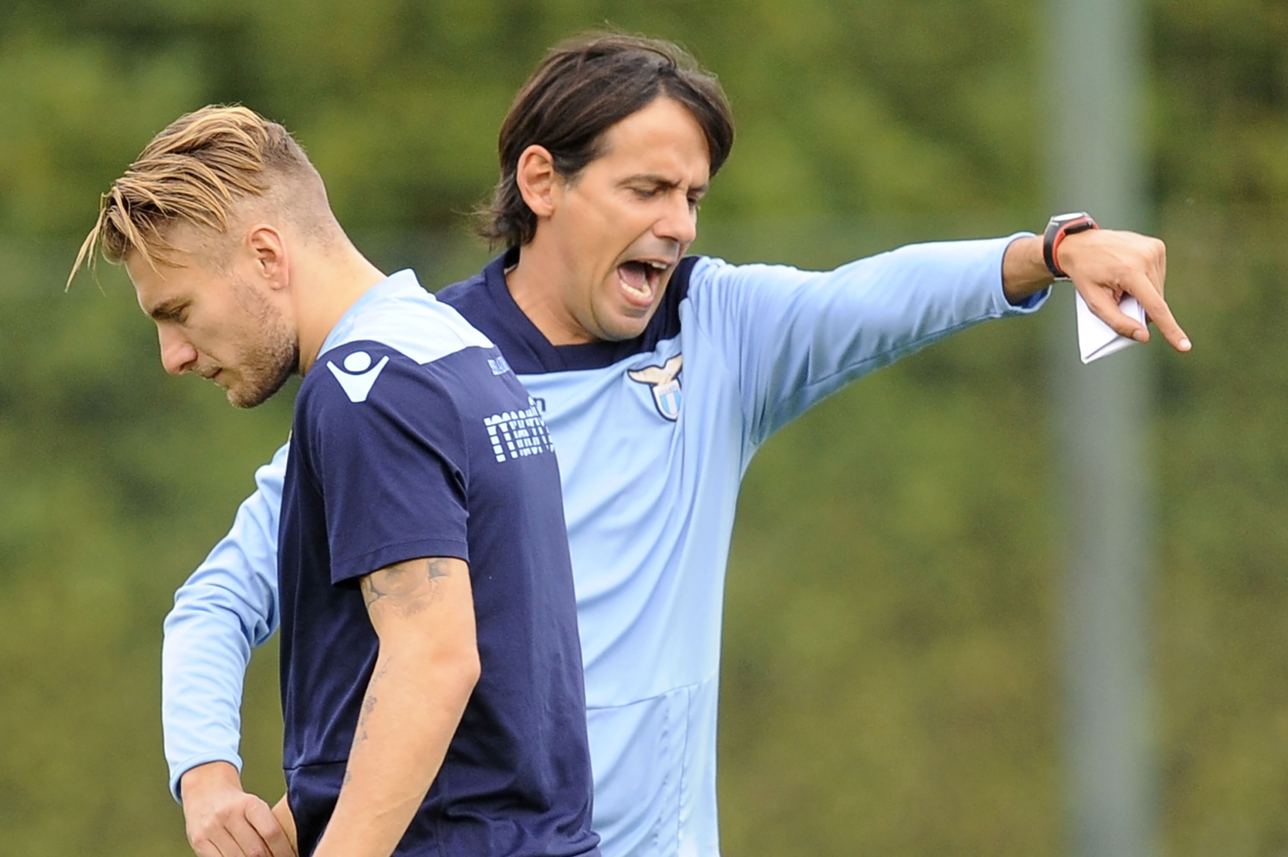 SS Lazio Training Session And Press Conference