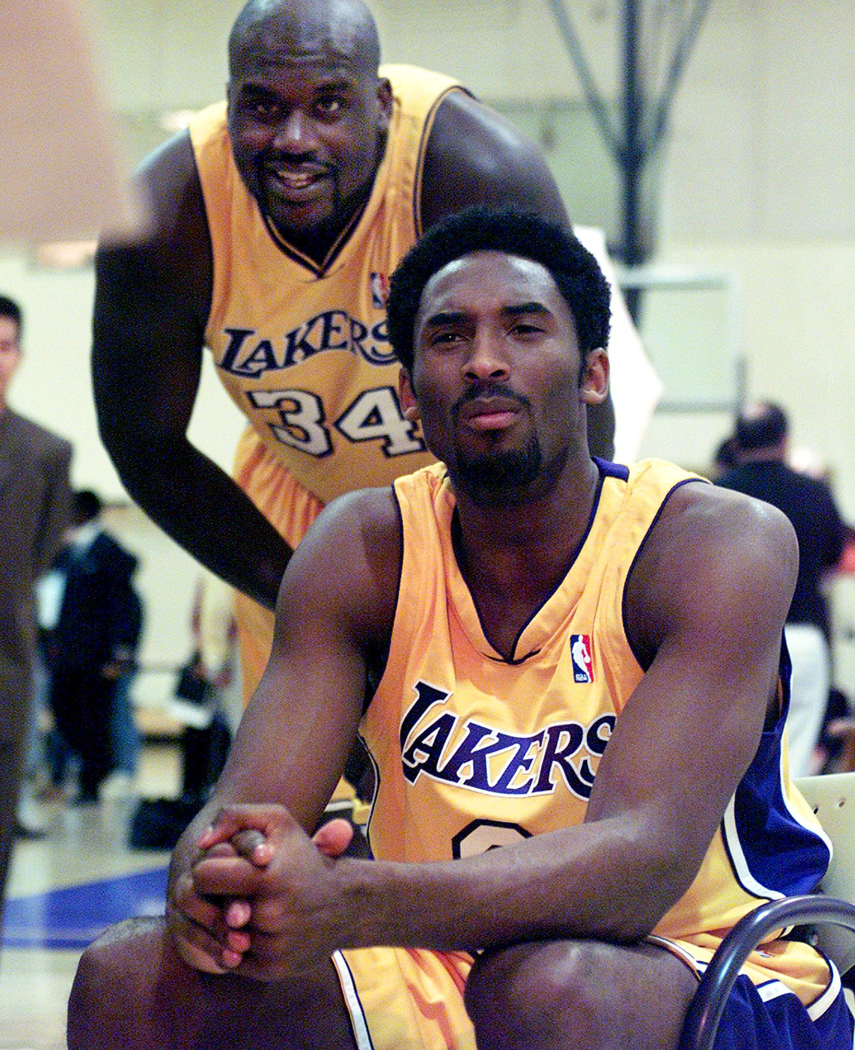 Shq e Kobe nel 2000 Scott Nelson/AFP/Getty Images)