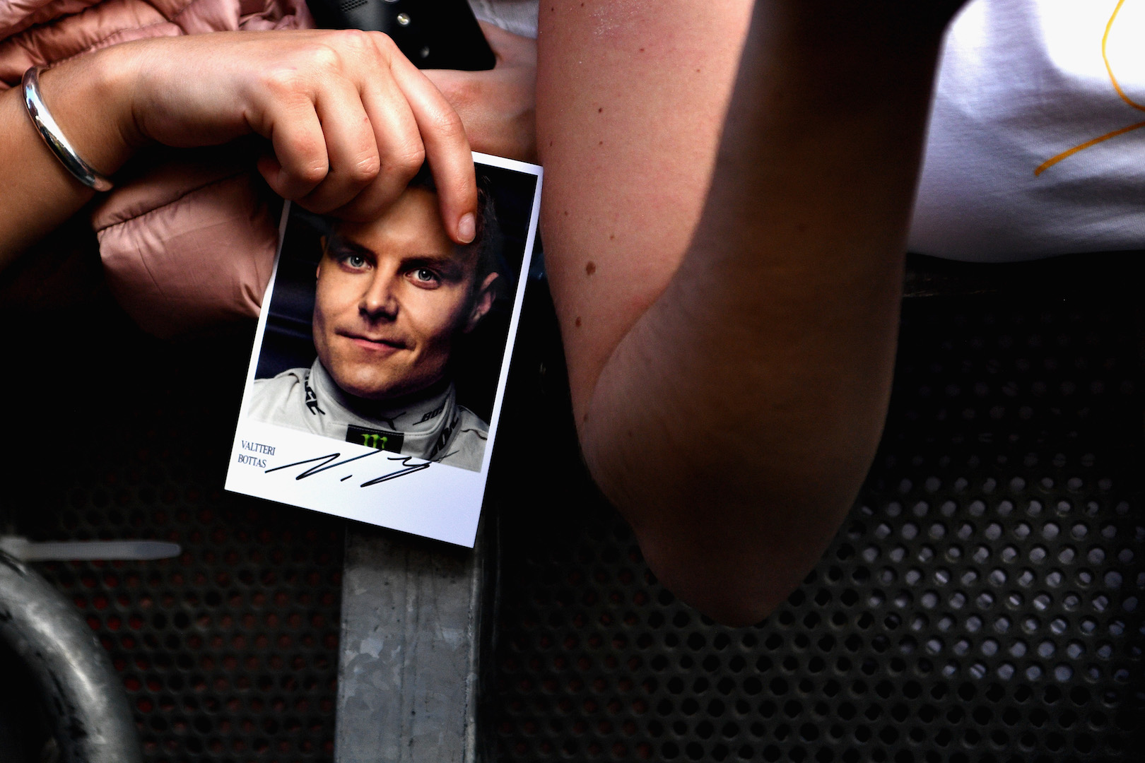 MONTMELO, SPAIN - MAY 11: Fans wait for Valtteri Bottas of Finland and Mercedes GP at the drivers autograph signing session during previews for the Spanish Formula One Grand Prix at Circuit de Catalunya on May 11, 2017 in Montmelo, Spain. (Photo by David Ramos/Getty Images)