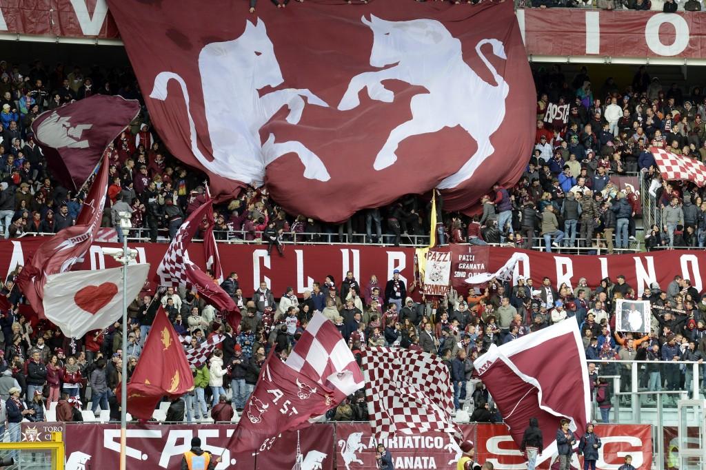 Tifosi del Torino nella partita contro il Parma, ottobre 2012. Claudio Villa/Getty Images