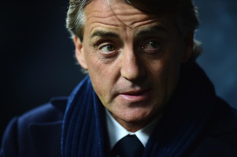Roberto Mancini durante Inter-Celtic 3-3. Jamie McDonald/Getty Images