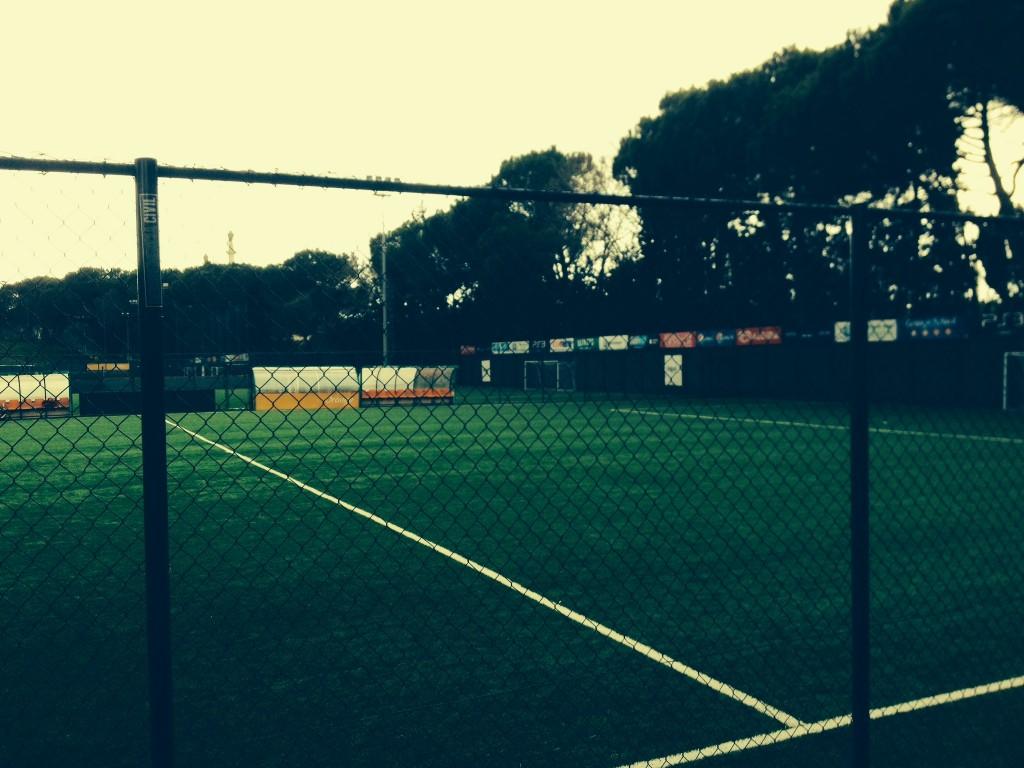 Veduta romantica del Fútbol Club di Roma