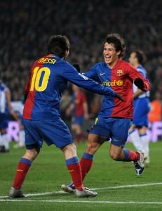 Bojan e Messi. Jasper Juinen/Getty Images