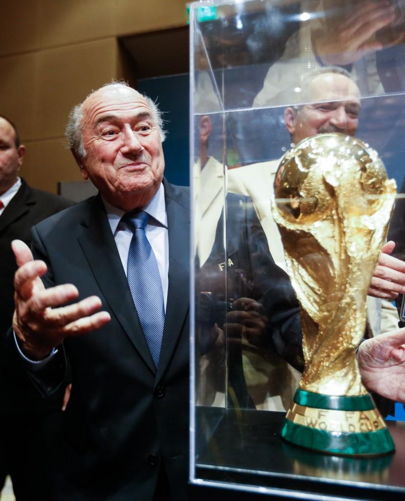 Blatter e il SUO tesoro. Alexandre Schneider/Getty Images