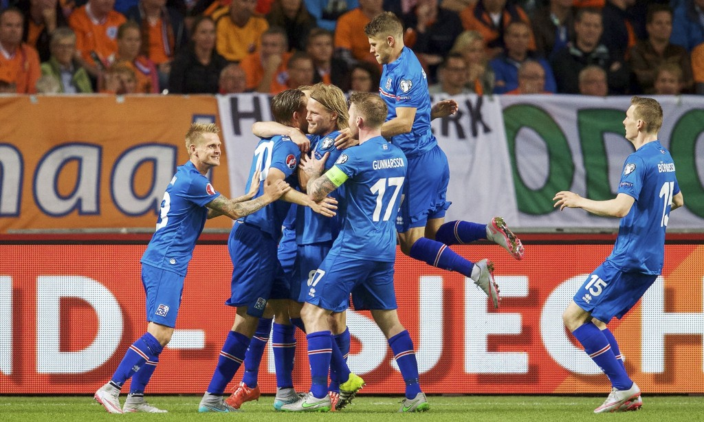 Netherlands v Iceland, UEFA Euro 2016 qualifier football match at Amsterdam Arena, The Netherlands - 03 Sep 2015
