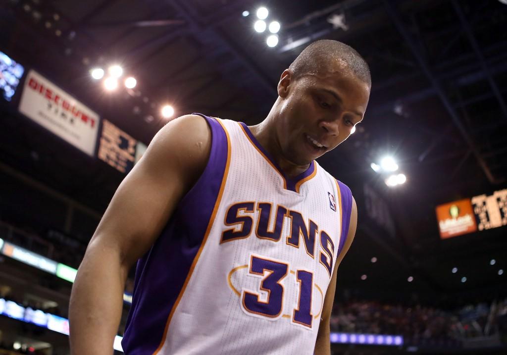 Sebastian Telfair nel 2012, in maglia Suns. Christian Petersen/Getty Images