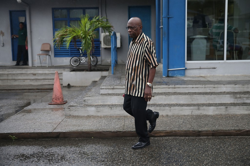 Jack Warner, ex vice-Presidente Fifa, a Trinidad (Joe Raedle/Getty Images)