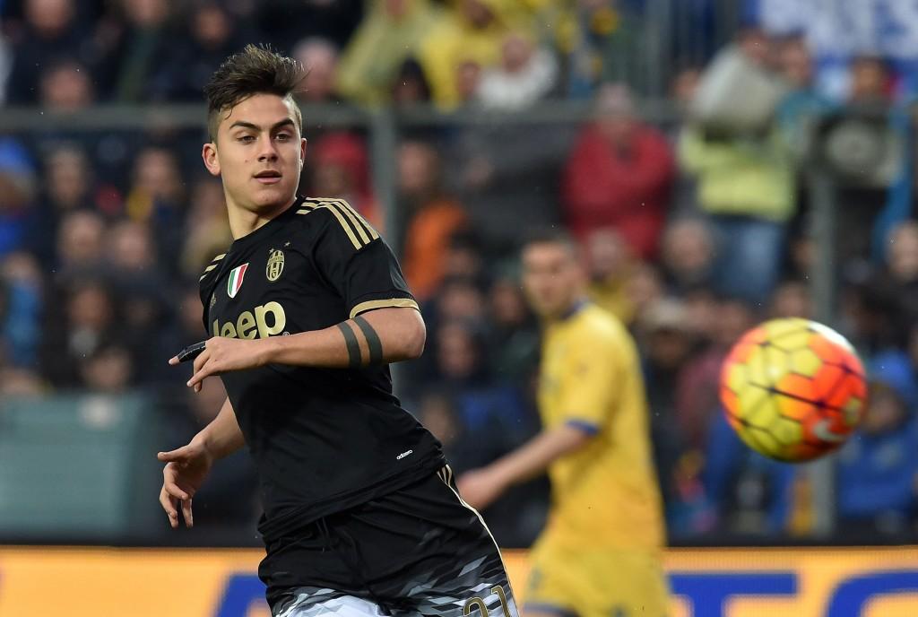 Paulo Dybala, a Frosinone, ha segnato ancora. Giuseppe Bellini/Getty Images