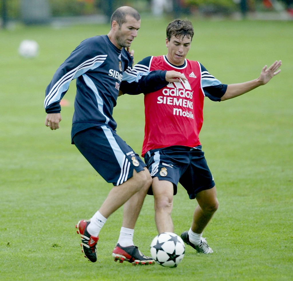 Zidane e Pavon, in persona (Alex Livesey/Getty Images)