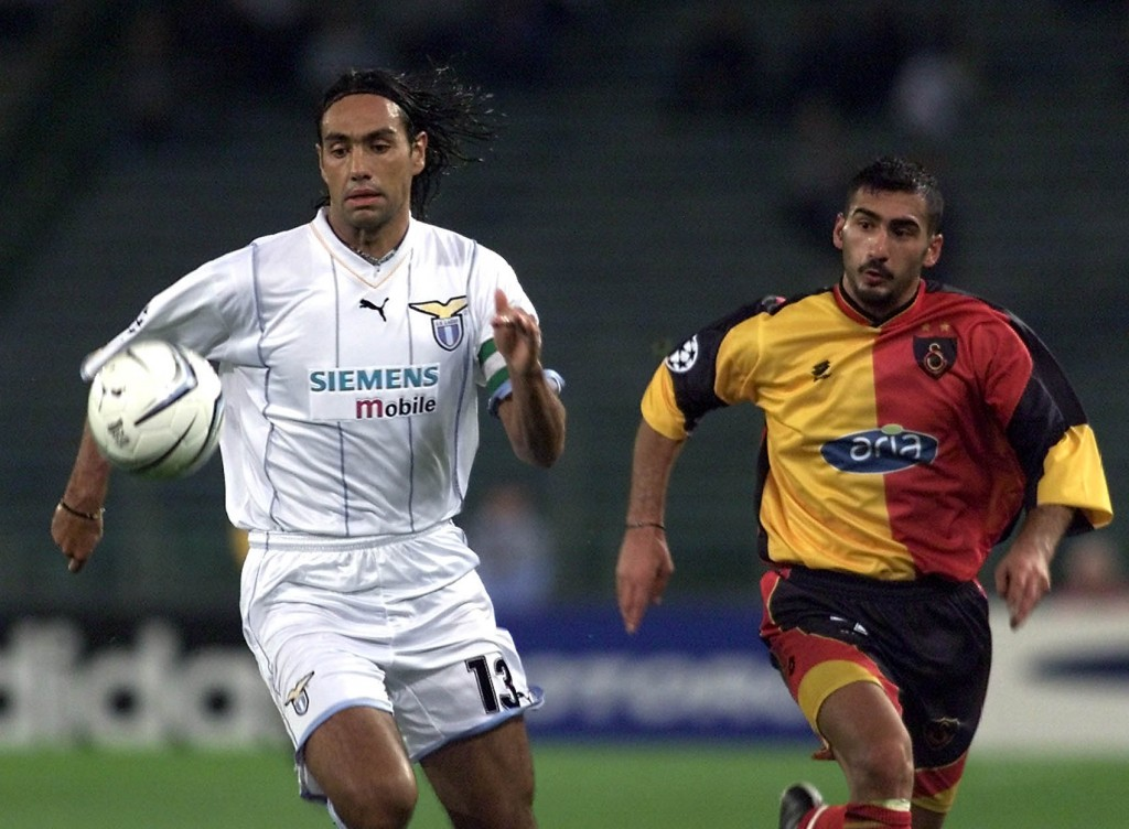 Ancora Lazio: Champions League 2001, contro il Galatasaray. Gabriel Bouys/AFP/Getty Images
