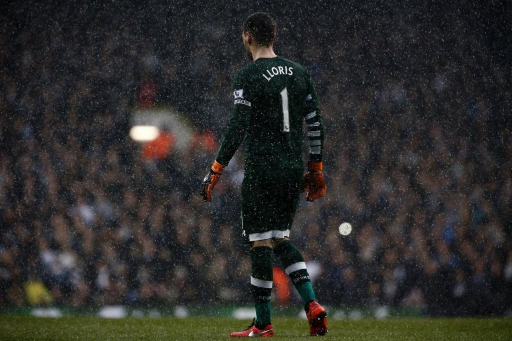 Marzo 2016, nella pioggia contro l'Arsenal (Adrian Dennis/Afp/Getty Images)