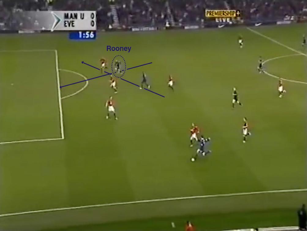 Rooney secondo