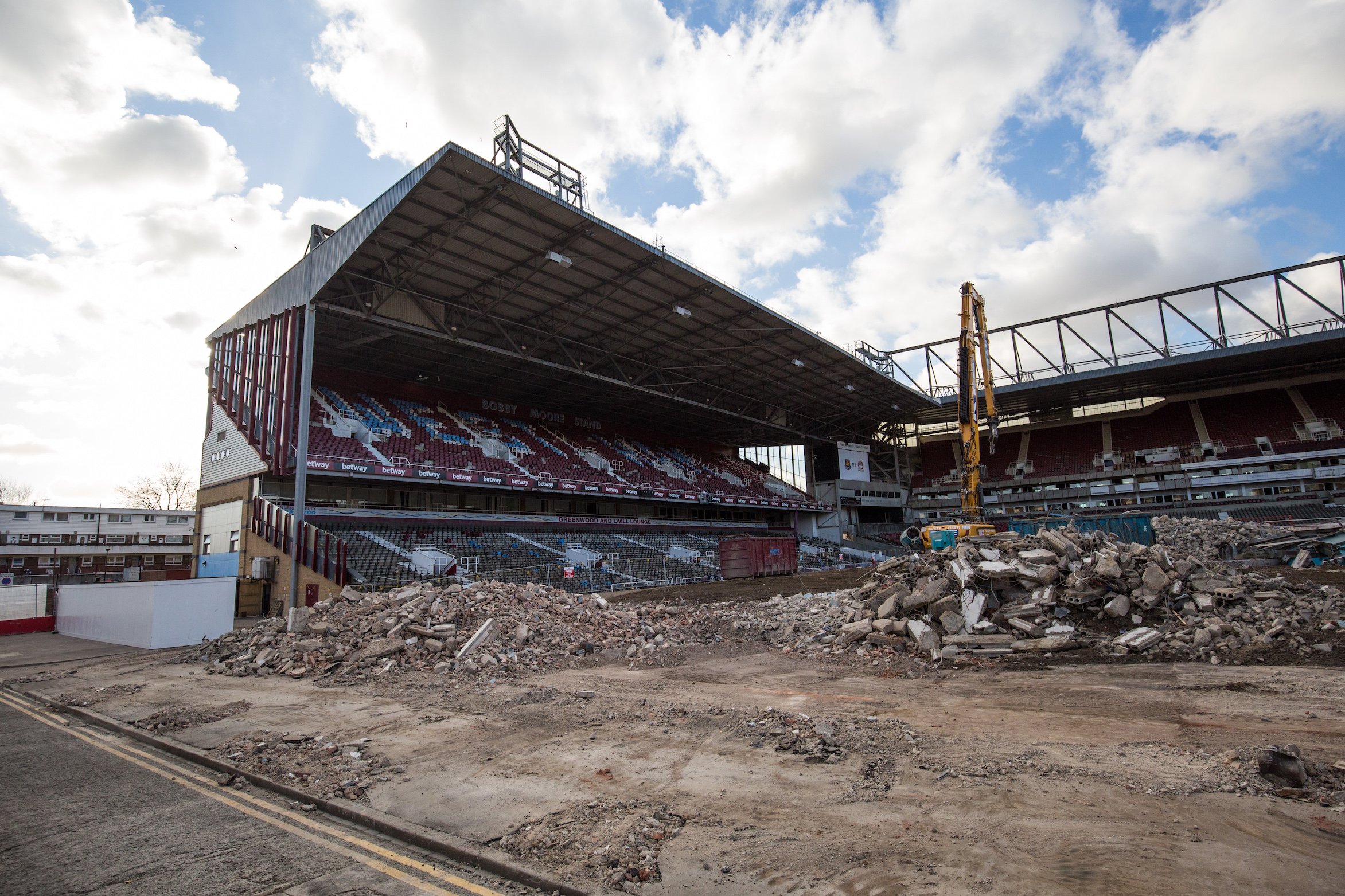 West Ham's Boleyn Ground Six Months After The Club Moved Out