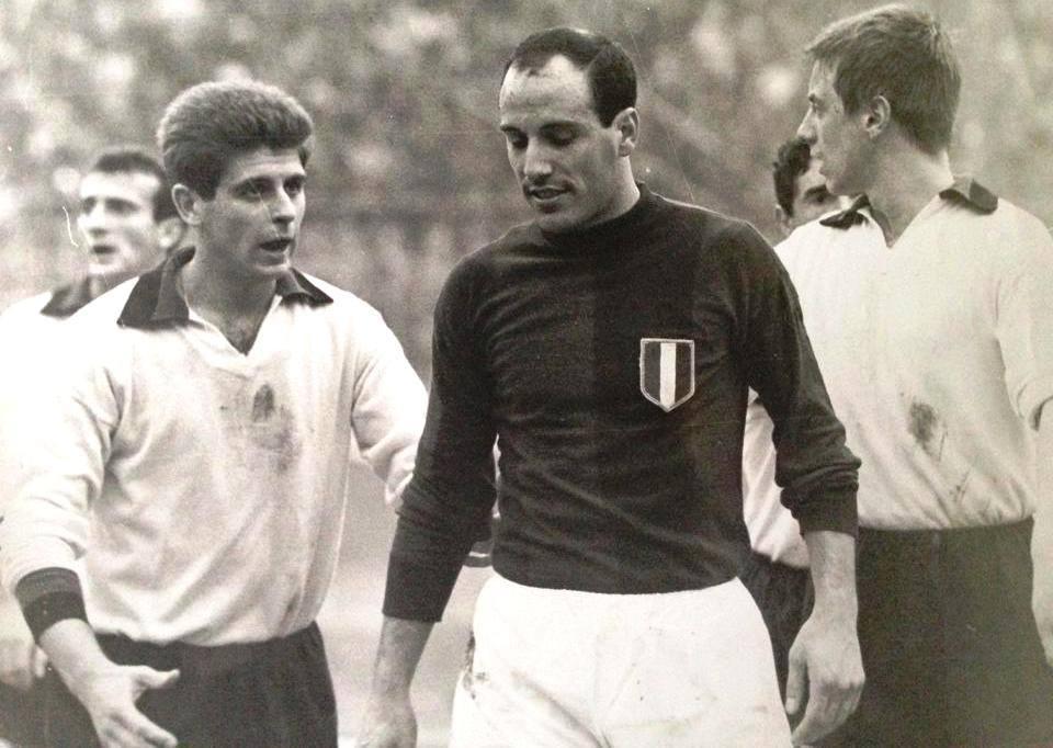 Pascutti e Rivera, nella stagione 1964/65