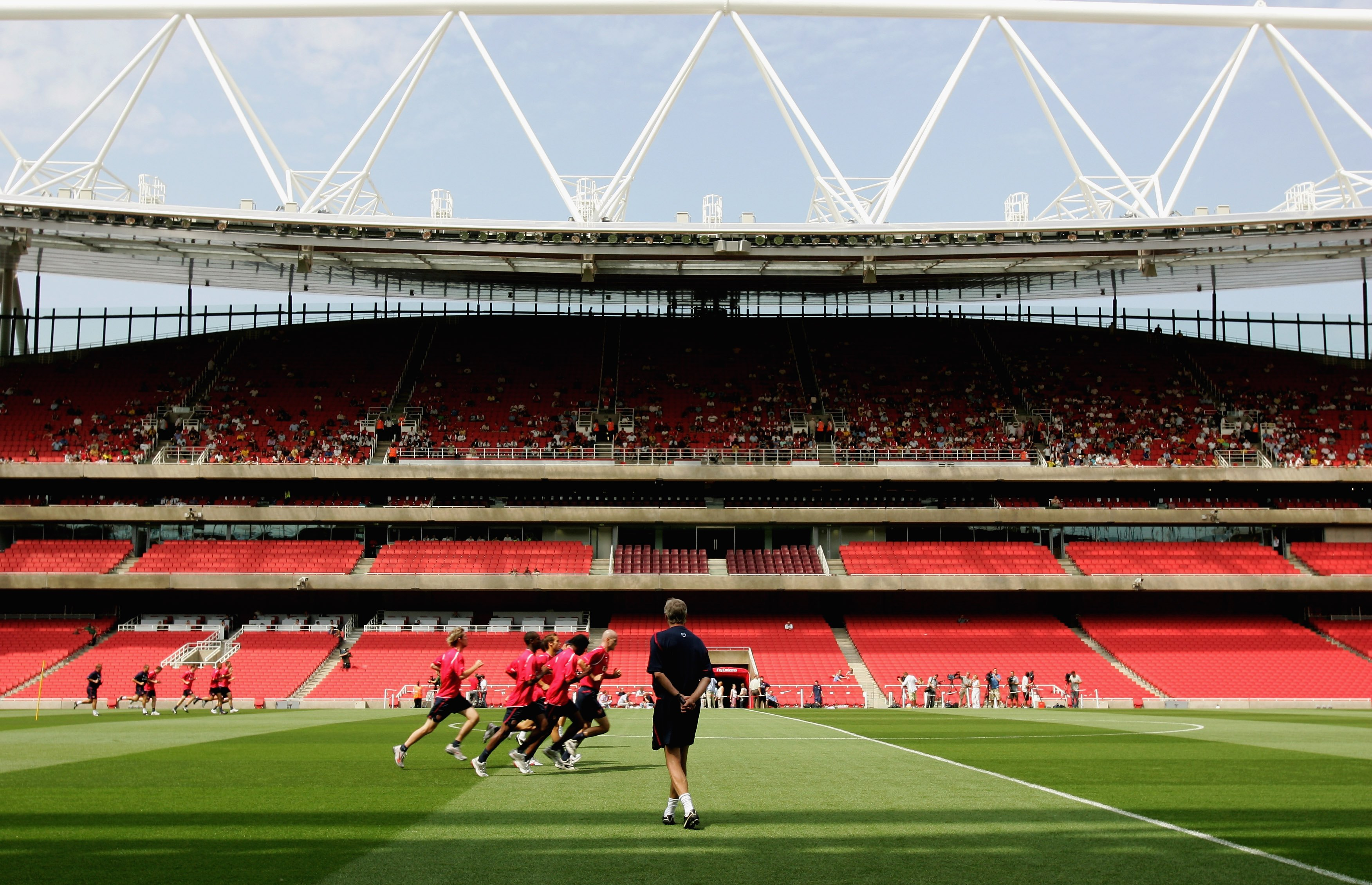 Arsenal Training & Emirates Stadium Open Day