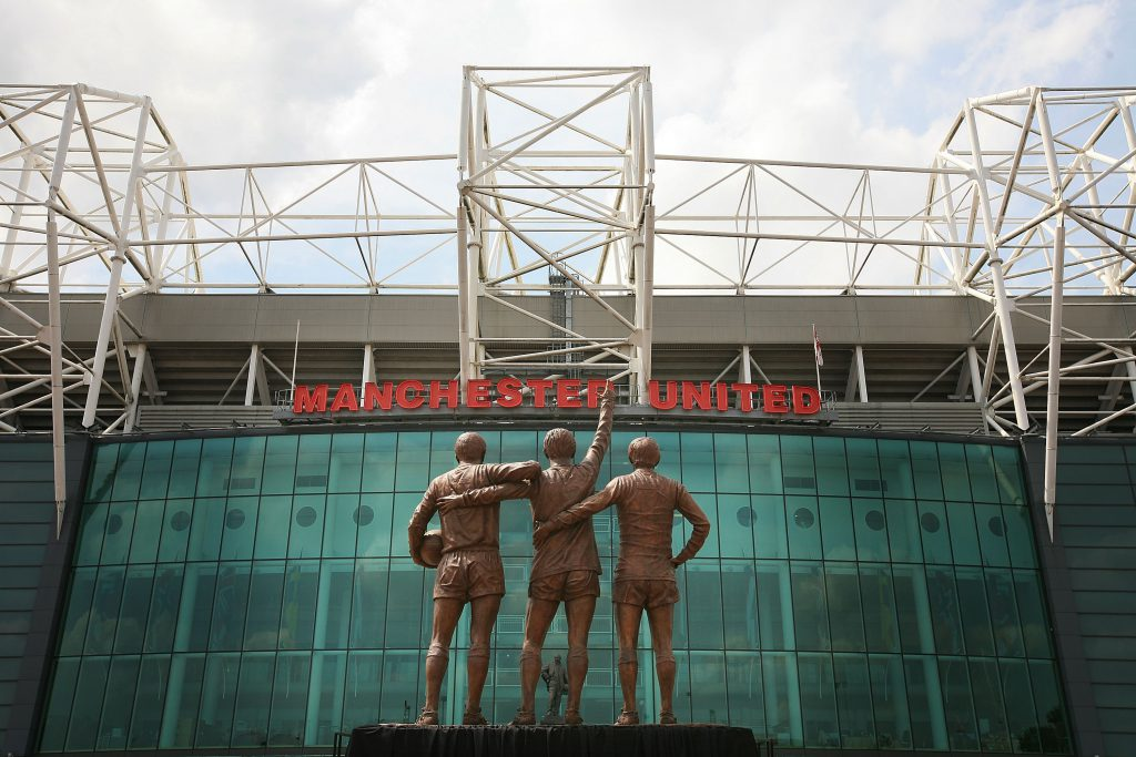 Manchester United Trinity Statue Unveiled