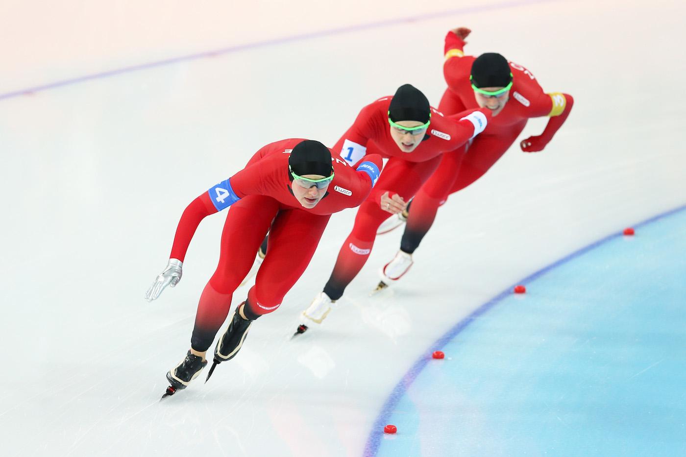 Speed Skating - Winter Olympics Day 14