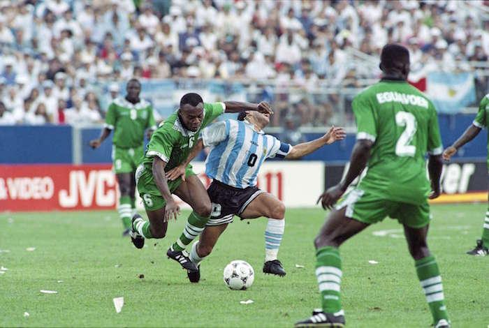 FBL-WORLD CUP-1994-ARGENTINA-NIGERIA