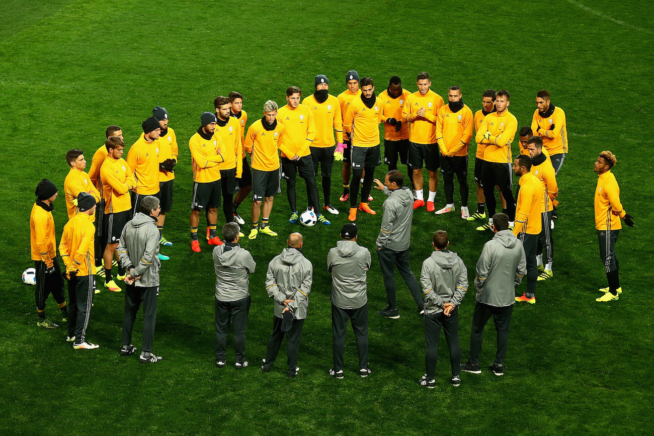 Juventus FC Press Conference & Training Session