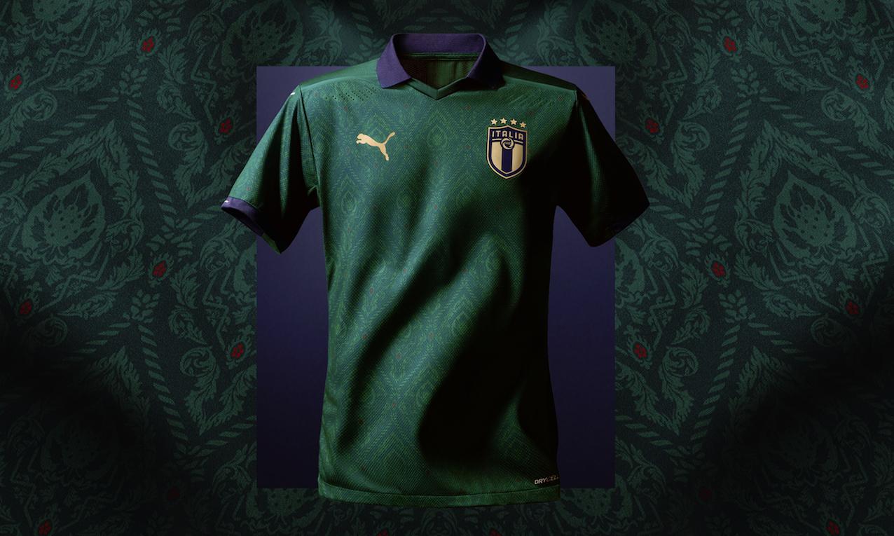 """Rinascimento"""", la nuova maglia verde della Nazionale italiana"""