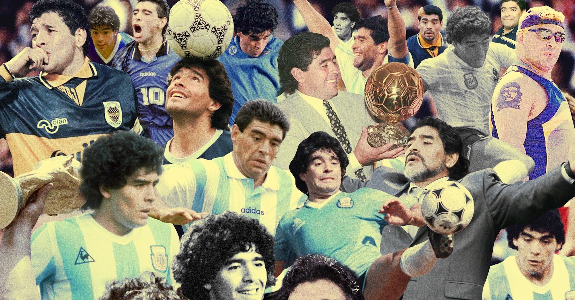 Le memorie di Maradona