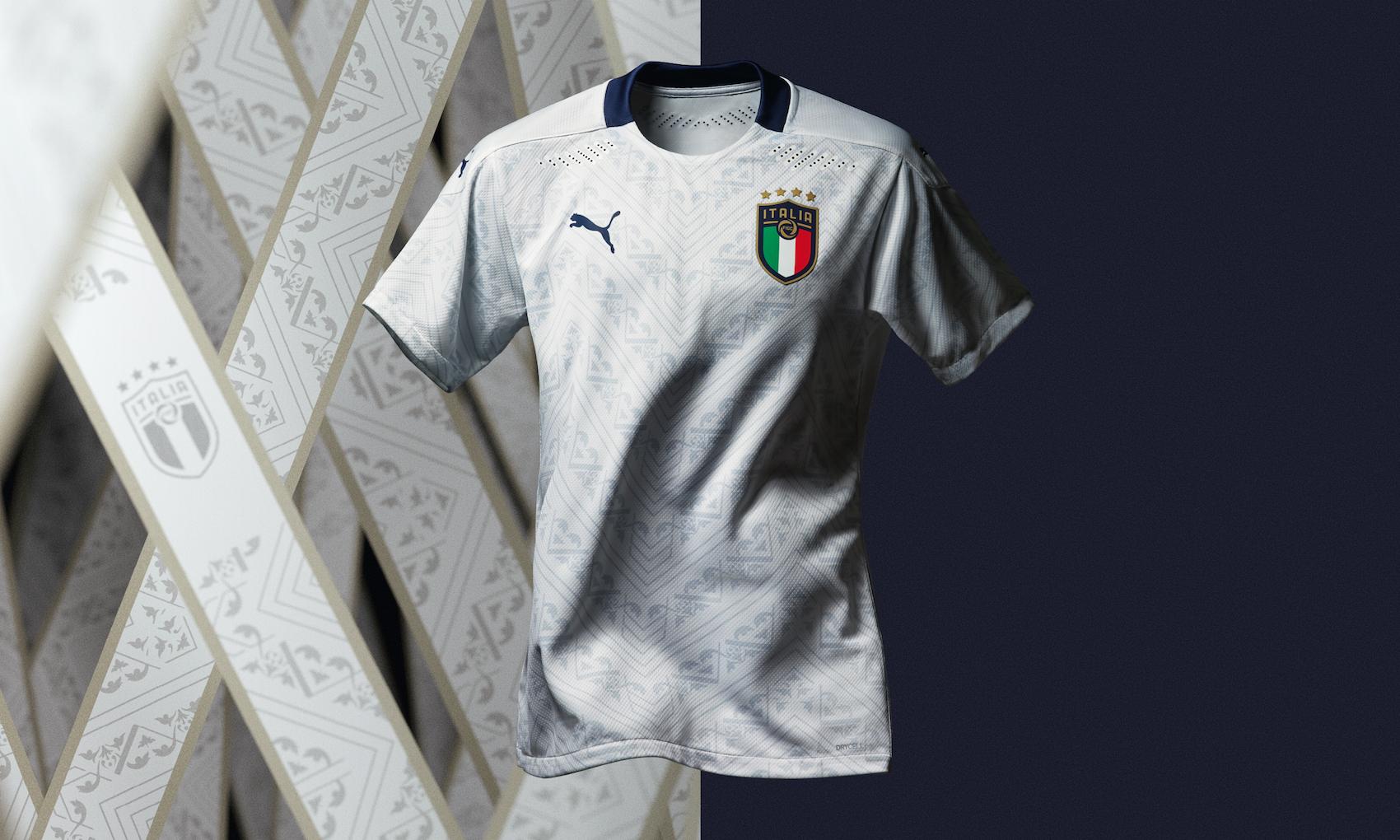 Com'è la nuova maglia away della Nazionale italiana