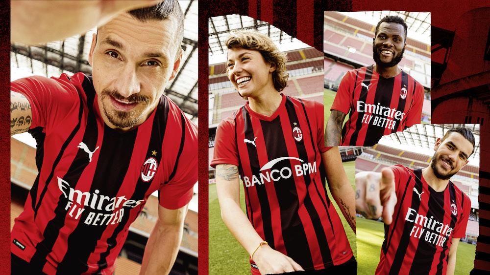 Strisce come grattacieli: ecco la nuova maglia home del Milan